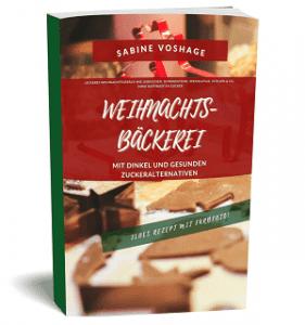 Weihnachtsbäckerei mit Dinkel und gesunden Zuckeralternativen